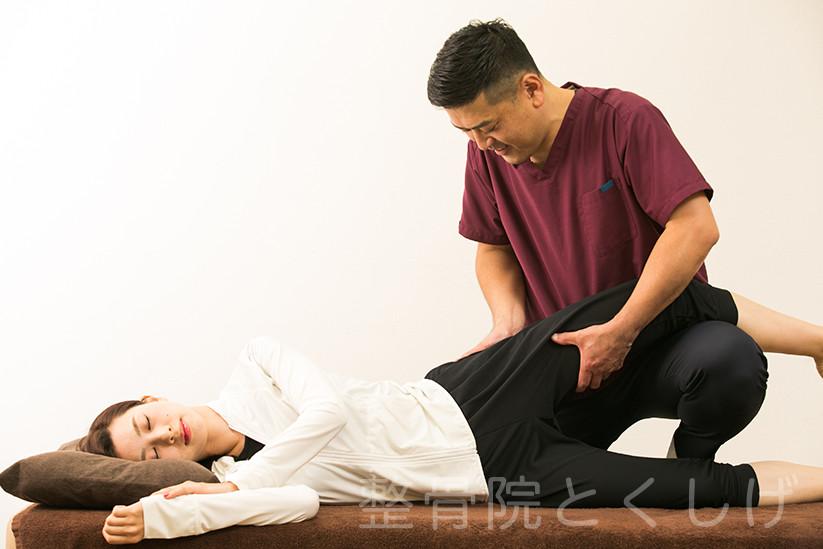 座骨神経痛を治したい方はご予約を